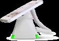 Optiguard V-line stand alone beveiligingsdisplays steuntjes met alarm en oplaadfunctie met smartphone_highlight groen