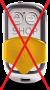Elbes remote resetter t.b.v. beveiliging alarm displays steuntjes Optiguard