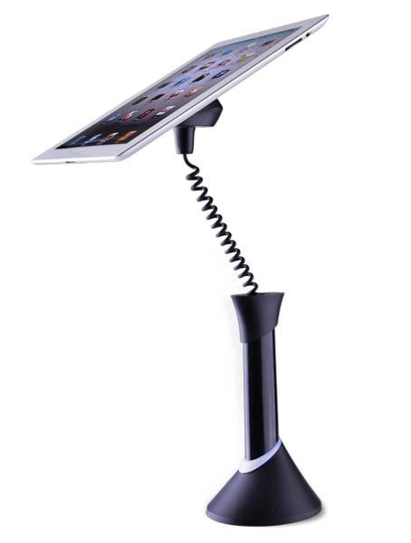 Optiguard Stand alone alarm beveiligings steuntje display voor iPads, tablets, smartphones, etc.
