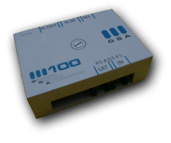 GSA 100, node t.b.v. GSA 500 toegangscontrole systeem